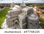 italy. this is the view from... | Shutterstock . vector #697748134