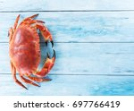 Cooked Brown Crab Or Edible...