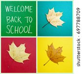 back to school and education...   Shutterstock . vector #697788709
