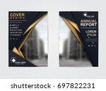 brochure flyer design template... | Shutterstock .eps vector #697822231