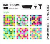 Bathroom Mosaic Tiles Set...