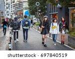tokyo  japan   november 12 ...   Shutterstock . vector #697840519