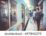 fukuoka  japan   september 24 ... | Shutterstock . vector #697842379