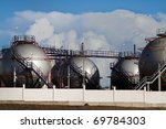 part of desalination plant | Shutterstock . vector #69784303