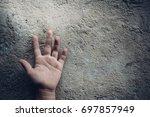 stop abusing boy violence.... | Shutterstock . vector #697857949