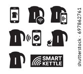 smart kettle and smart phone