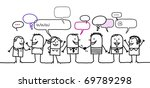 people   social network | Shutterstock .eps vector #69789298