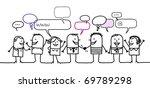 people   social network | Shutterstock .eps vector #69789298