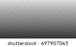 abstract black diagonal striped ... | Shutterstock .eps vector #697907065
