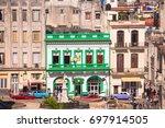cuba  havana   may 5  2017 ... | Shutterstock . vector #697914505
