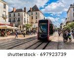 tours  france   july 2  2016 ... | Shutterstock . vector #697923739