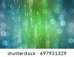 bokeh light  shimmering blur... | Shutterstock . vector #697931329