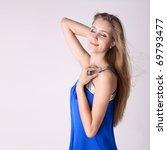 portrait of a beautiful woman...   Shutterstock . vector #69793477