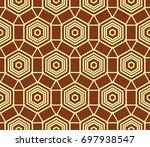 hipster background. geometric...   Shutterstock .eps vector #697938547
