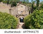 montegabbione  italy   august... | Shutterstock . vector #697944175