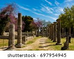 ancient olympia | Shutterstock . vector #697954945
