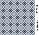 vector retro geometric seamless ...   Shutterstock .eps vector #697971541