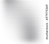 vector abstract dotted halftone ... | Shutterstock .eps vector #697975369