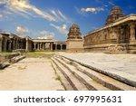 hampi  karnataka  india | Shutterstock . vector #697995631