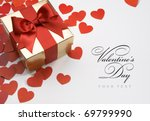 art valentine's greeting card | Shutterstock . vector #69799990