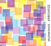 Abstract Squares Pattern On...