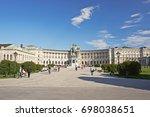 vienna  austria   may 20 ... | Shutterstock . vector #698038651