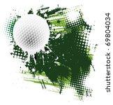vector golf design element | Shutterstock .eps vector #69804034
