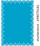 frame border label page vector... | Shutterstock .eps vector #698070181