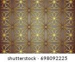 vintage pattern backgrounds for ... | Shutterstock .eps vector #698092225