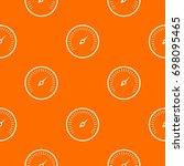 speedometer pattern repeat... | Shutterstock .eps vector #698095465