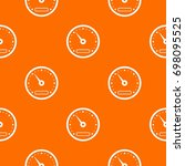 speedometer pattern repeat... | Shutterstock .eps vector #698095525