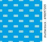 scoreboard pattern repeat... | Shutterstock .eps vector #698097205