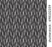 tweed fabric pattern in black...   Shutterstock .eps vector #698102359