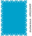 frame border label page vector... | Shutterstock .eps vector #698103409