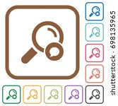 search comment simple icons in... | Shutterstock .eps vector #698135965