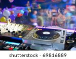 dj's deck other the dancefloor  ... | Shutterstock . vector #69816889