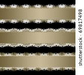 set of ribbons with lace | Shutterstock . vector #69817498