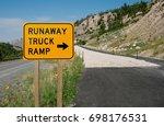 Runaway Truck Ramp Sign   Truc...