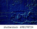 old paint peeling texture... | Shutterstock . vector #698178724