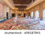dubai  uae   october 21  2016 ... | Shutterstock . vector #698187841