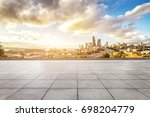 cityscape of los angeles from... | Shutterstock . vector #698204779