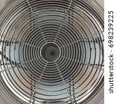 working electric fan | Shutterstock . vector #698239225