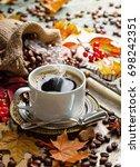 coffee | Shutterstock . vector #698242351