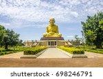 Small photo of Senior Abbot Loung Phu tod statue.