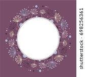 botanical vector illustration.... | Shutterstock .eps vector #698256361