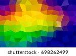 light multicolor vector...   Shutterstock .eps vector #698262499