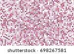 light pink vector modern...   Shutterstock .eps vector #698267581