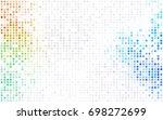light green  red vector modern...   Shutterstock .eps vector #698272699