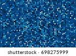 dark blue vector illustration...   Shutterstock .eps vector #698275999