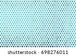 light blue vector geometric...   Shutterstock .eps vector #698276011